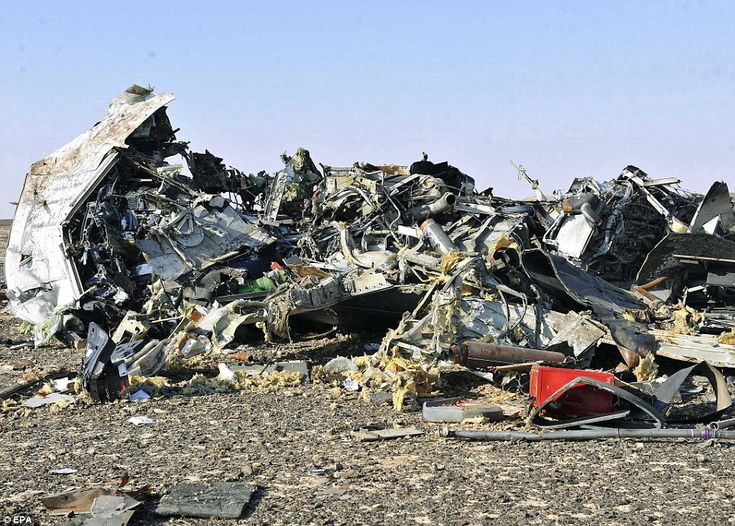 10/31/2015 - Doomed Russian jet did not lodge SOS call, experts say: Aircraft which crashed in Sinai killing all 224 people on board did not have 'any faults' before hitting the ground - Egyptian air crash investigators said the pilot had warned of a 'technical problem' shortly before the disaster.  The jet was plunging at more than 6,000 feet per minute as the pilot tried to land at el-Arish airport in northern Egypt.