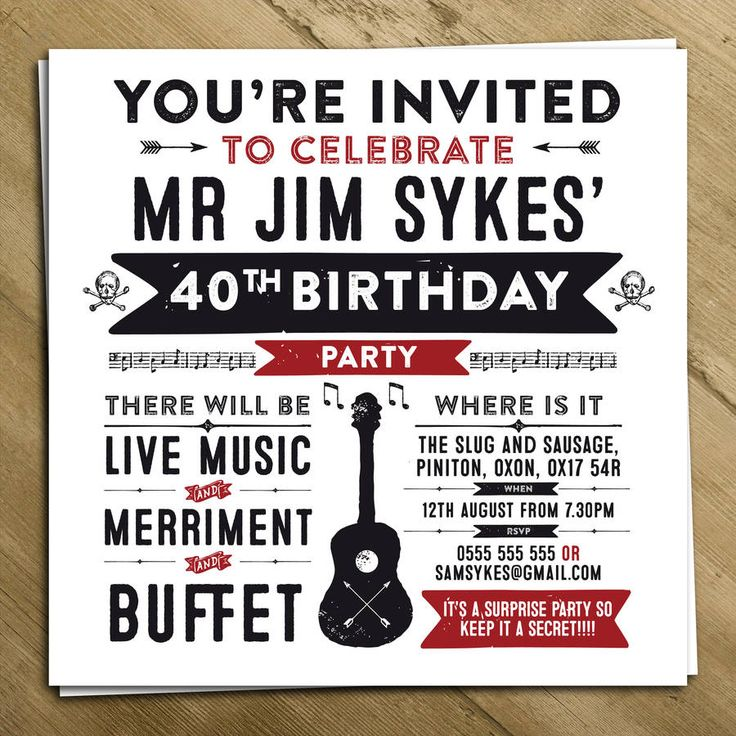 personalised party invite by a is for alphabet | notonthehighstreet.com