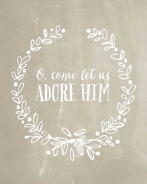 O Come Let us Adore Him                                                                                                                                                                                 More