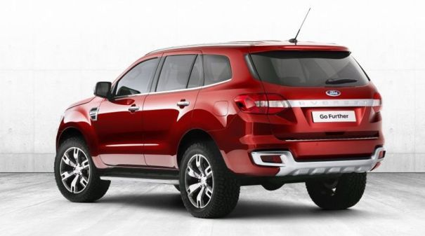 2014 All New Ford Everest