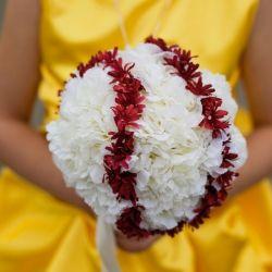 A Baseball-Themed Wedding