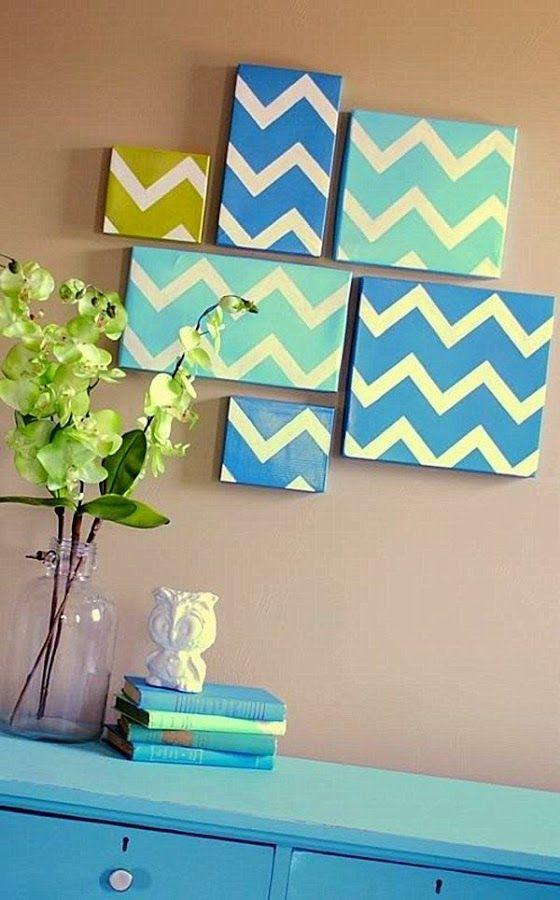 Usa tapas de cajas de zapatos para decorar tu casa | Decoración