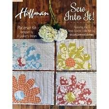 Hoffman Simply Eclectic by Karianne Wood Thistlewood Farms 4 piece Placemat Kit