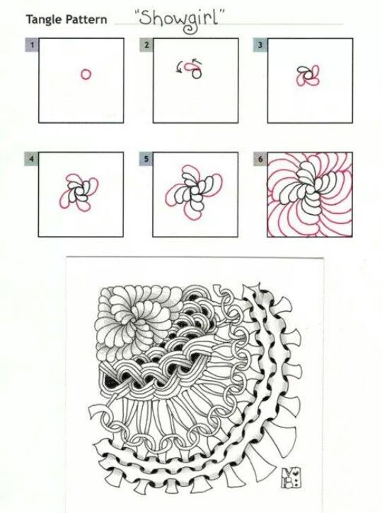 Image result for zentangle showgirl stepout