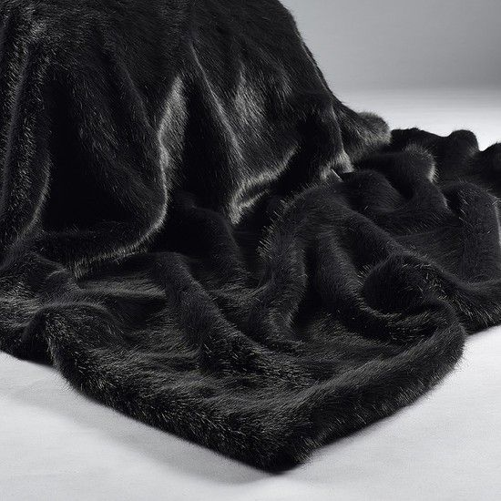 Devine Luxury For This Coming Winter   Wrap Up In This Sumptuous Charcoal  Faux Fur Throw And Relax .