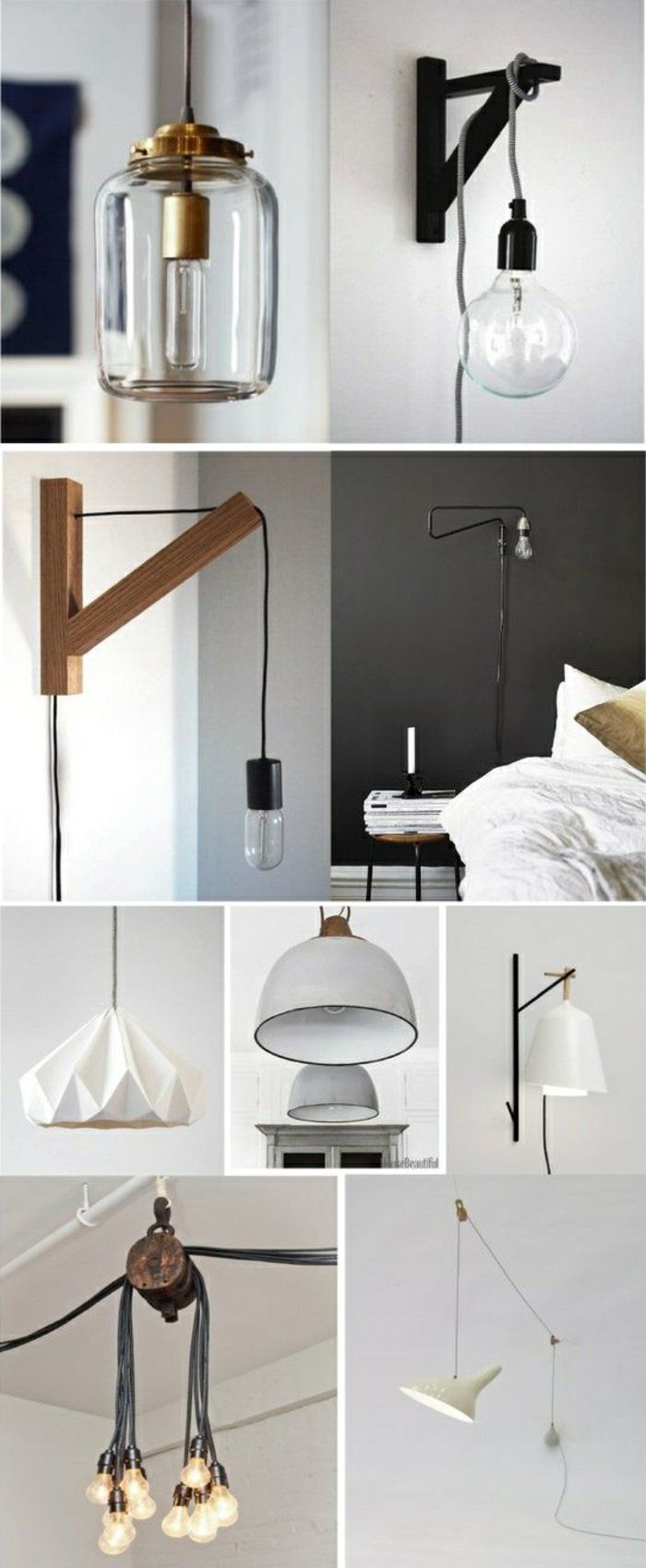 die besten 25 lampen selber machen ideen auf pinterest. Black Bedroom Furniture Sets. Home Design Ideas