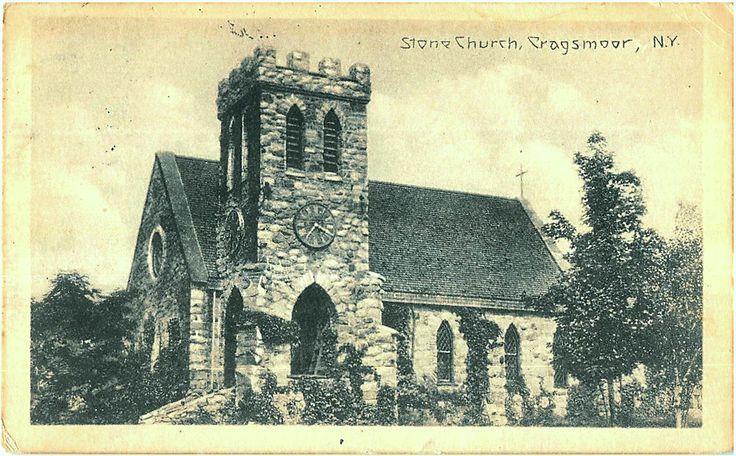Cragsmoor Stone Church, Cragsmoor, NY -Vintage Postcard