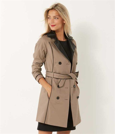Manteau femme, blouson cuir, veste femme, trench, veste en jean, caban – Camaieu