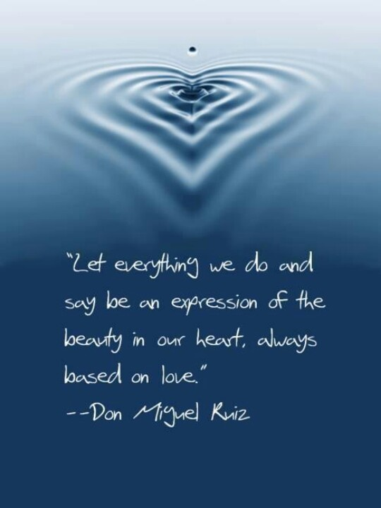 Love Is The Ripple Effect We Want A Word To The Wise Quotes