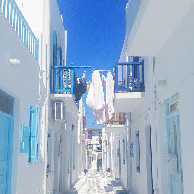 Cyclades , Mykonos , Greece @mariahoriati