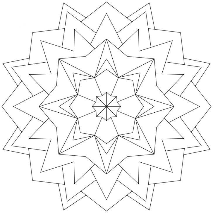 Mandala-Ausmalbild Nr. 131