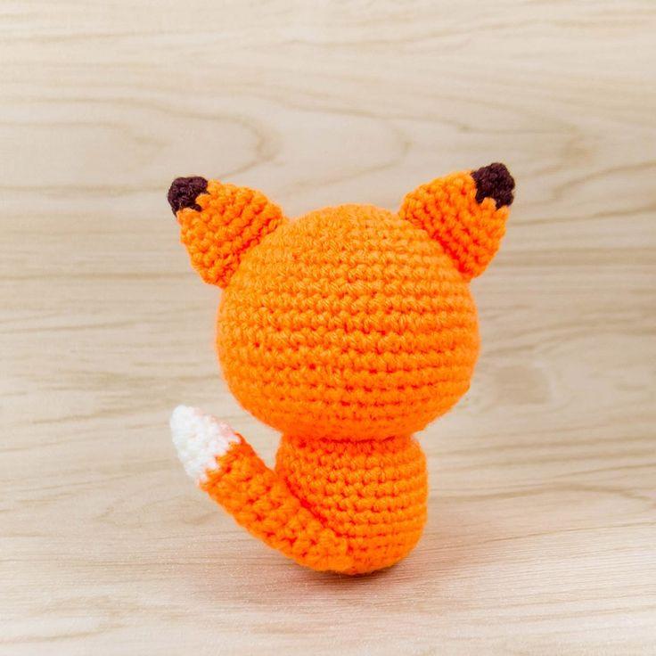 fox crochet animal pattern