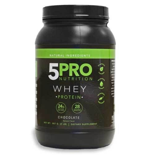 5pro Natural Whey Protein Chocolate 2lbs In 2019 Natural