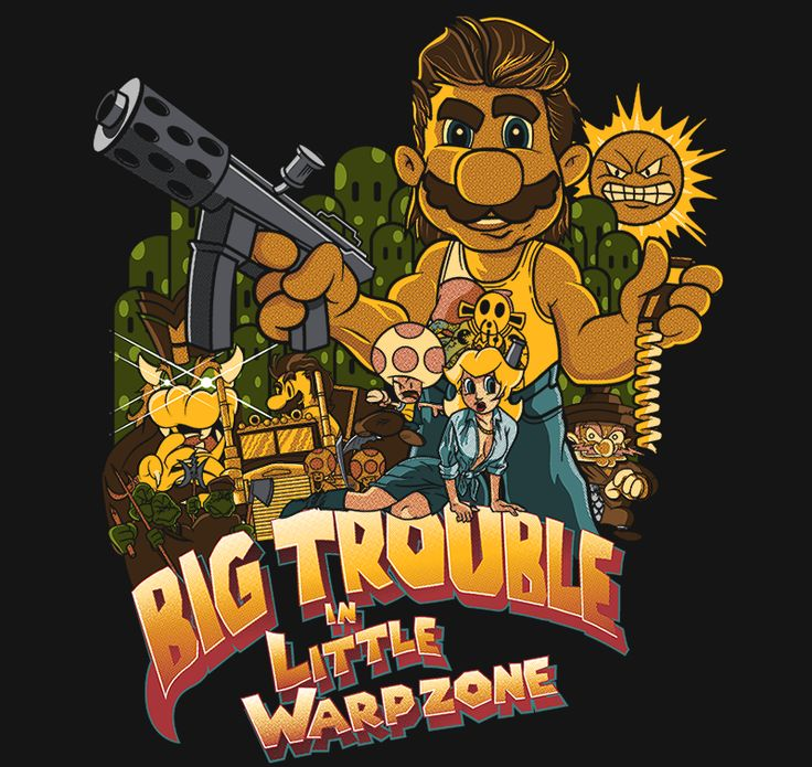 Big Trouble in Little Warpzone T-Shirt - Super Mario Bros T-Shirt is $11 today at Ript!