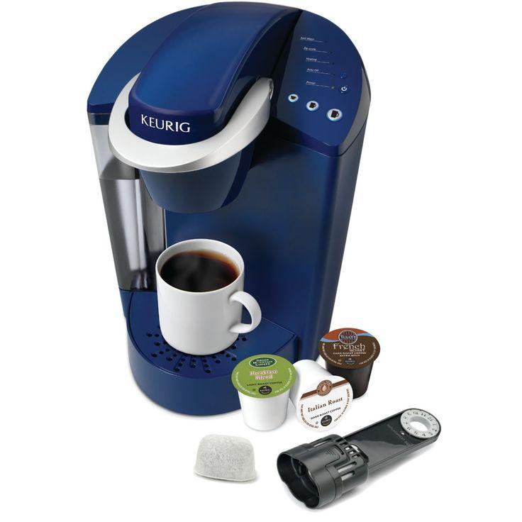 Keurig K55 Single Serve Programmable K Cup Pod Coffee Maker, Patriot Blue