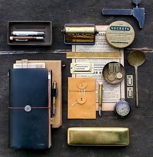Midori traveller's notebook. <3