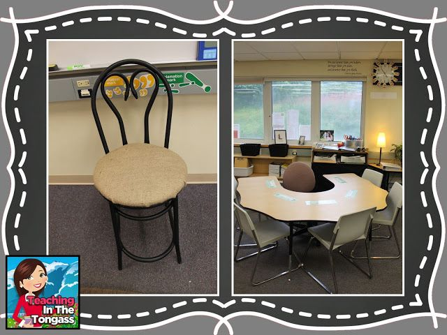 Neutral Classroom Decor : Burlap and chalkboard bulletin classroom decor nd