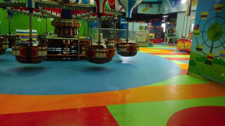 Fun City, Chennai Product used: IQ Granit  Area installed: 13,000sqft  1/6