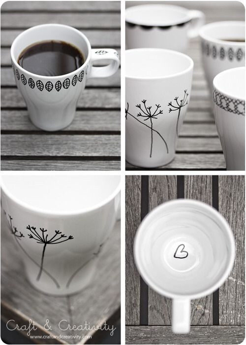 With such cups every morning will be good