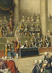 Tableau représentant l'ouverture des états généraux à Versailles le 5 mai 1789