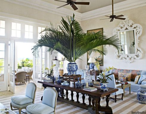 Photograph by Bunny Williams Interior Design.