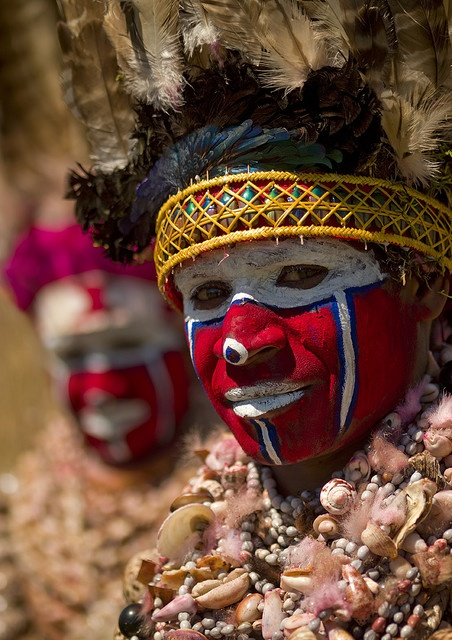 Papua New Guinea Natives. Don't tell the west, they probably don't know there are native peoples yet to conquer.