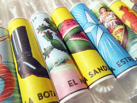Mexican Wedding Bubble Favors Loteria Gifts By ChanceyCo On Etsy