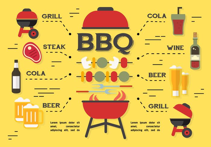 Free vector Free Barbecue Elements Vector Background #22470