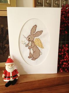 belle and boo: Boo Angel Cross Stitch