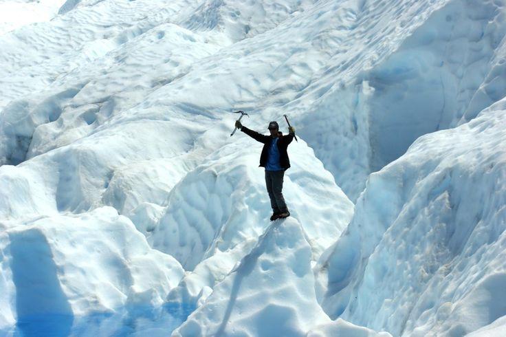 Trekking en el Glaciar Perito Moreno. Más info en www.facebook.com/viajaportupais