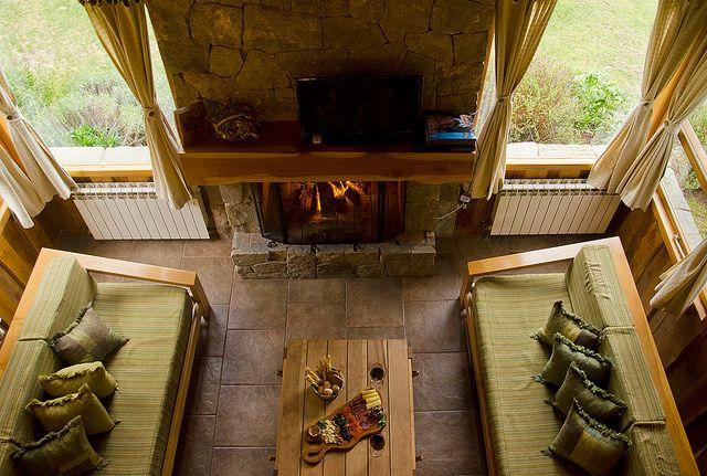 Disfrutando algunas especialidades de la Patagonia al calor del hogar