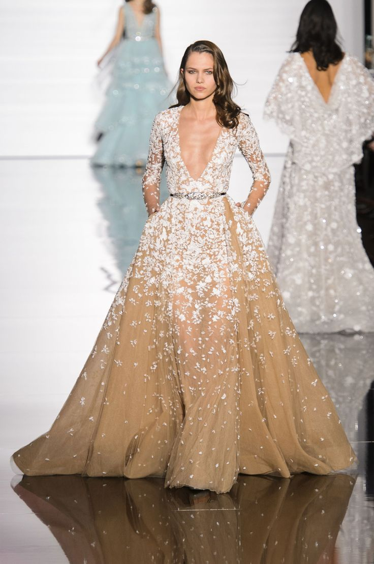 Zuhair Murad haute couture wiosna-lato 2015, fot. Imaxtree