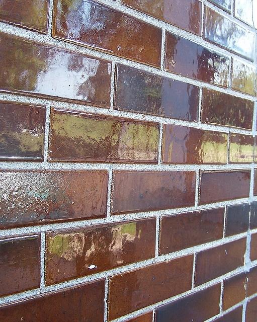 Glazed Kitchen Tile : Brick floor brown glaze my kitchen our future