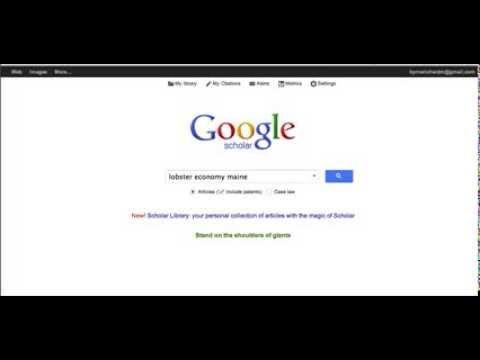 Vas a Schoolar.google.com, cerques l´article, mires si l´autor és rellevant (està molt citat?). El guardes (SAVE) i llavors el trobaràs dins MY LIBRARY (columna esquerra de drive.google.com)