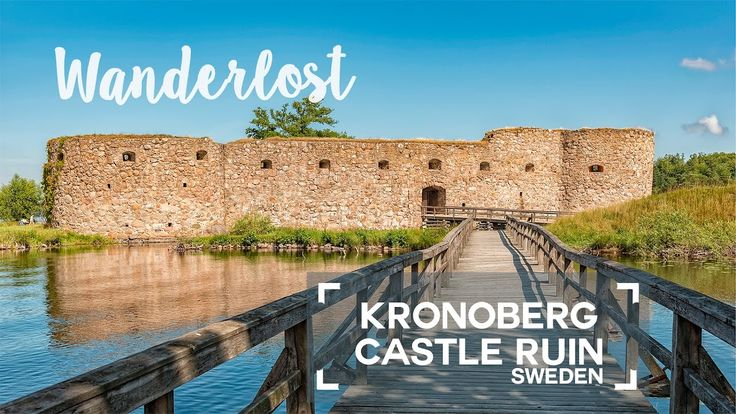 The Kronoberg castle ruin in Sweden