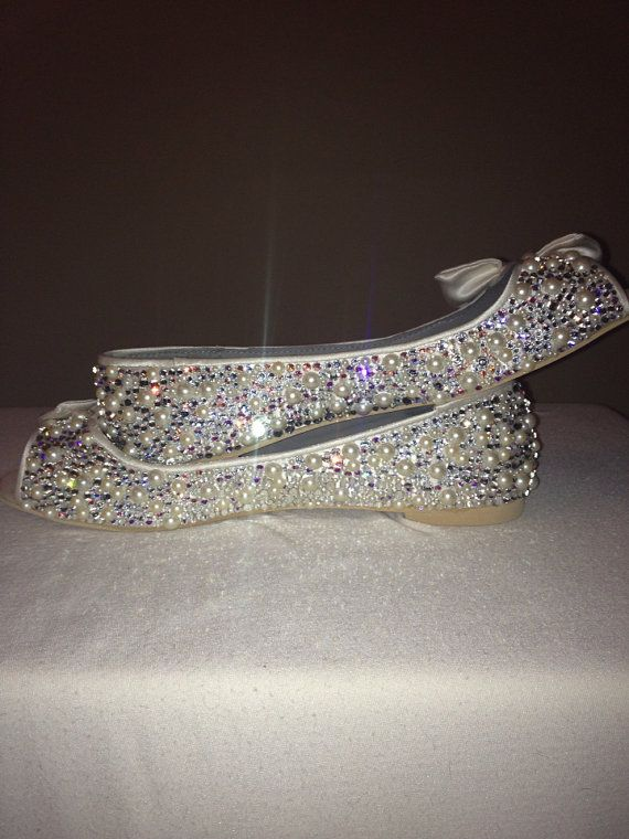 Hey, I found this really awesome Etsy listing at https://www.etsy.com/listing/161703304/cinderella-wedding-slippers