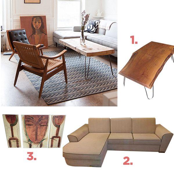 Rustik tarzda salon dekorasyonu için bu ürünleri kullan! Rustic, home decor, living room, decoration