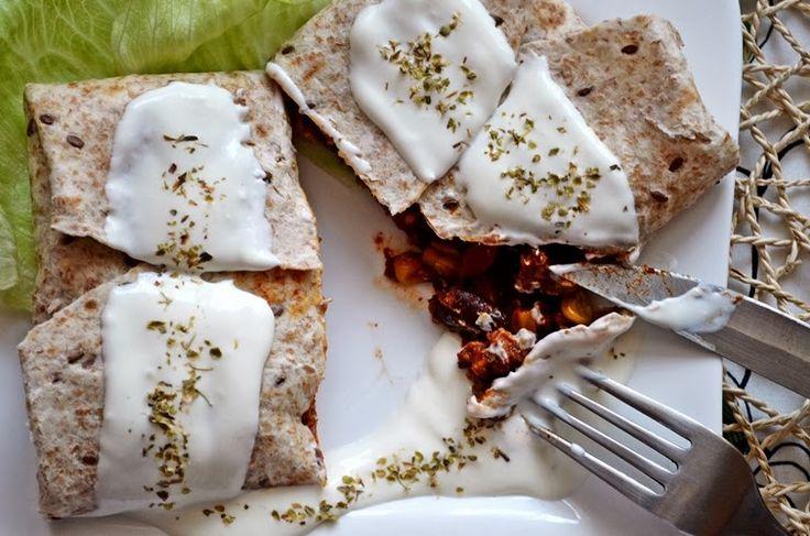 Taste me! Eat me!: Meksykańskie burrito z mieloną wołowiną i czerwoną...