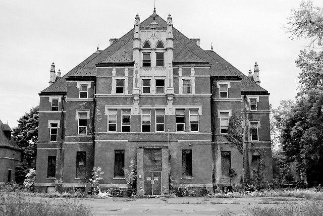 "Old Psychiatric Hospitals | abandoned ""mental"" hospital. Former Insane Aslyum in New England ..."
