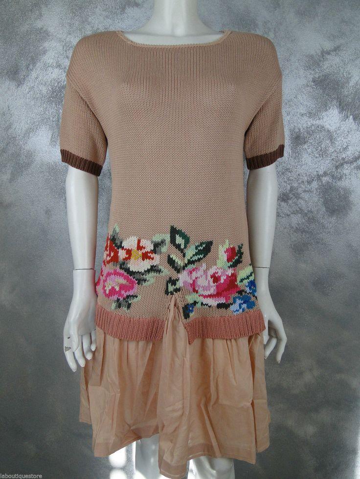 TWIN-SET SIMONA BARBIERI ABITO DRESS DONNA MADE IN ITALY