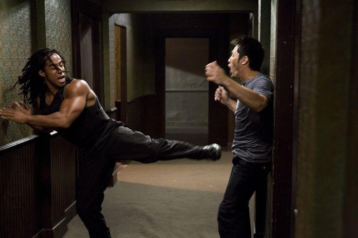 Jake (Jason Yee) meets his match Maximillion (Lateef Crowder)