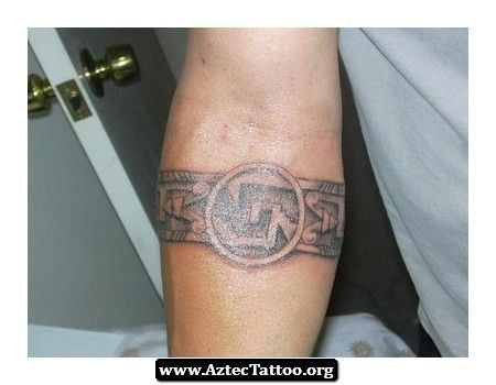 30 best Aztec Band Tattoo Designs images on Pinterest ...