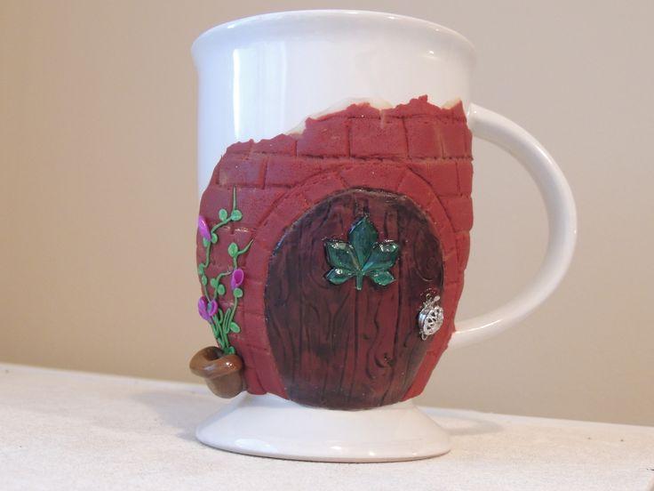 Fairy Door coffee mug