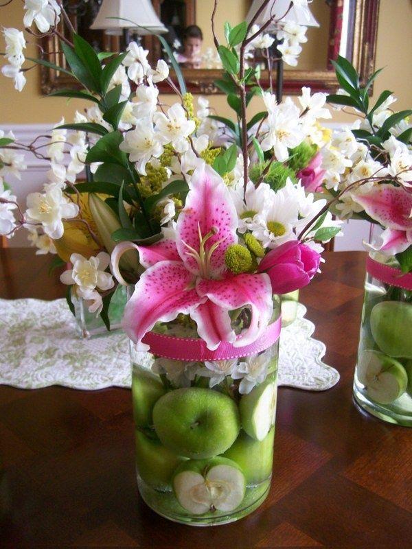 Fake Flowers Arrangement Ideas