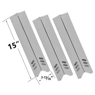 Grillpartszone- Grill Parts Store Canada - Get BBQ Parts,Grill Parts Canada: Backyard Grill Heat Plate | Replacement 3 Pack Sta...
