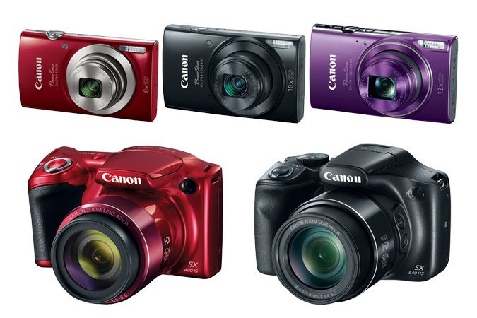 New Canon cameras, printers and camcorders announced at the 2016 CES show   Photo Rumors