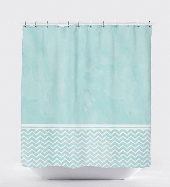Blue Shower Curtain Aqua Bathroom Decor Shower by HawkerPeddler. 1000  ideas about Aqua Bathroom Decor on Pinterest   Bathroom