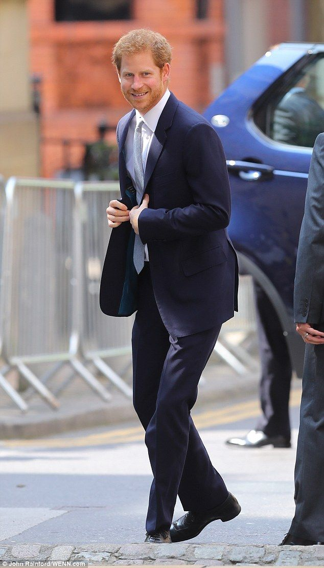 Harry arrives in Leeds for the Encouraging Happy Young Minds event, a charity fair and pan...