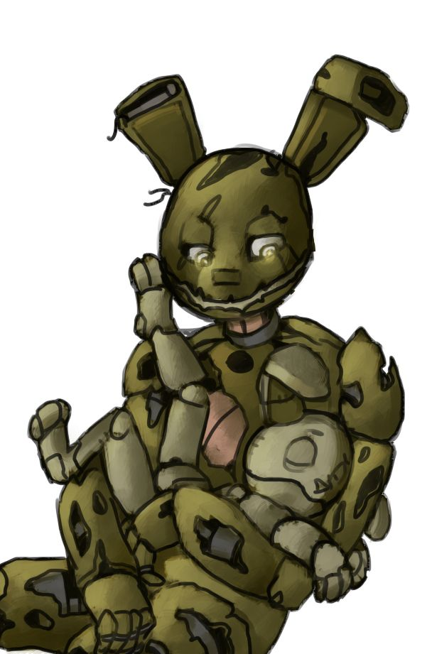 And Bonnie Spring Nightmare Plushtrap