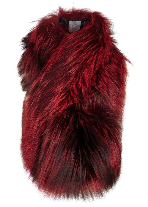 49f8e68bcf6b Arabella red fox fur scarf - Lilly E Violetta